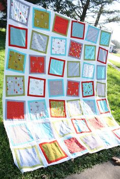 tutorial for wonky block quilt