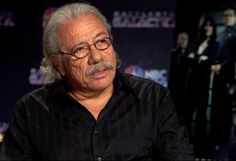 """Edward James Olmos Talks Importance Of Latinos In The Entertainment Industry And The U.S. As Role Models -  The Mexican-American actor who plays the role of Captain Adama on the Sci-fi series """"Battlestar Galactica"""" on NBC Universo, shares his feelings on Hispanic Heritage month."""