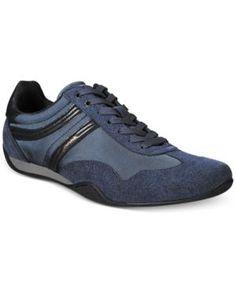 Hugo Boss Orange Men's Pulse Running Sneakers - Blue 11