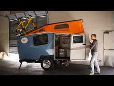 Cool caravans of the future - some of these are simply amazing! #camping #glamping http://www.inspiredcamping.com/camping-trends-cool-caravans-future/ Cricket Trailer 2012 Tour