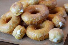 Easy Homemade Doughnuts and Cream-Filled Doughnut Holes  SouthernBite.com