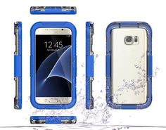 Samsung Galaxy S7 / S7 edge 360 Degree PC Waterproof Case - MG007