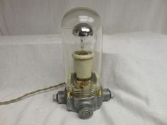 VINTAGE Barn LIGHT Industrial crouse Hinds fixture with OLD SOCKET Steampunk