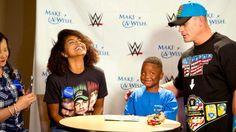 "John Cena is featured on ESPN SportsCenter's ""My Wish"" series with Make-A-Wish's KJ."