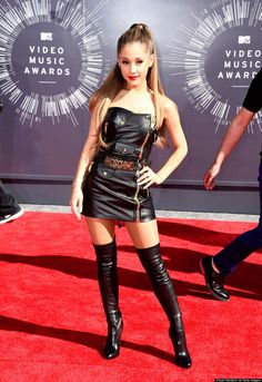51 Memorable Red Carpet Looks - These VMA Red Carpet Fashion Moments Range from Chic to Shocking #vmas #fashion trendhunter.com