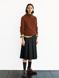 Fashion Tips fоr Girls Boho Fashion, Winter Fashion, Womens Fashion, Fashion Design, Ladies Fashion, Chic Outfits, Fashion Outfits, Mode Simple, Margaret Howell