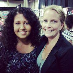 Me and Jenni Bowlin! Photo by jerseychicklisa Scrapbook Expo, Jenni, Lisa, Instagram Posts