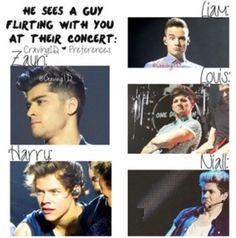 One Direction imagine One Direction Images, One Direction Humor, I Love One Direction, Direction Quotes, 1d Preferences, One Direction Preferences, 1d Imagines, Harry Styles Imagines, Irish Boys