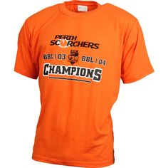 Show your team pride as the Perth Scorchers go back to back and become the BBL|04 Champions.