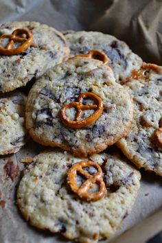 The Recipe Suitcase: Chocolate Chip Toffee Pretzel Cookies {Street Food September}