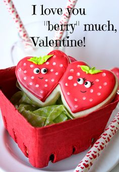I just love making Valentine's Day cookies! I mean, it's all about love, hearts, the color red, and sweethearts! I have a lot of swee...