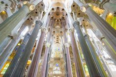 La Sagrada Familia, Barcelona. Travel, explore & experience. Photo by Lashan Ranasinghe. #LiveLaughExplore