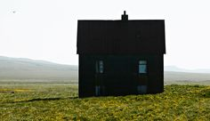 Im in love with this small black house
