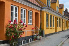 Beautiful old houses in Sorø - travelling to Denmark's hidden gems