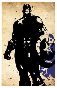 Rächer-Poster-Reihe. IRONMAN. Thor. Moloch. von Gogreenprints