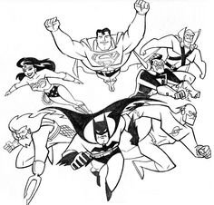 Enjoy These Printable Justice League Coloring Pages In All Different Artistic Styles And Characters Print Color Your Favorite DC Superheroes