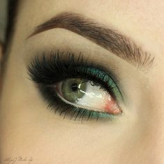 Check out our favorite Spring Night inspired makeup look. Embrace your cosmetic addition at MakeupGeek.com!