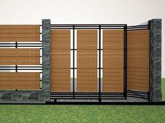 Gardens modern fence design and modern on pinterest