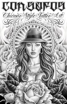 No tattoos on me but Chicana tattoo art is beautiful. Chicano Tattoos, Amor Chicano, Chicano Style Tattoo, Chicano Love, Chicano Drawings, Kunst Tattoos, Art Drawings, Boog Tattoo, Tattoo Flash