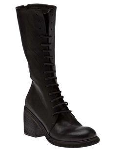 MARSÈLL VAULT Tall lace-up boot