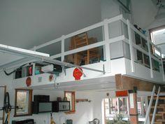 Love this loft Idea for the Garage Garage Organization, Garage Storage, Garage Transformation, Garage Attic, Dream Garage, Diy Home Improvement, Mudroom, Storage Solutions, Loft Ideas
