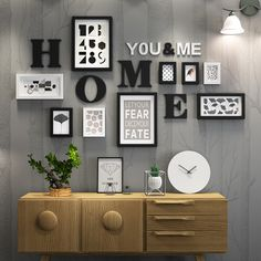 Solid Wood Large Picture Frames Modern Living Room Painting Photo Frame Set Big Size Wooden Letter Home Wall Decoration DIY. Yesterday's price: US… - Pin Decor