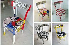 Queste saranno le sedie di casa mia...