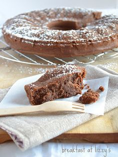 chocolate & chestnuts cake