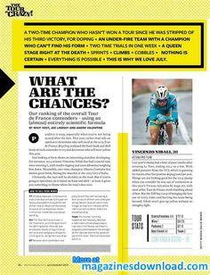 Magazines Download - All in PDF   Bicycling - July/August 2015 / South Africa