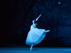 Svetlana Lunkina in Giselle at The Bolshoi Ballet  photo by Bel Air Classiques