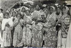 LE PEUPLE MALGACHE - femmes antakarana