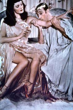 Totò and Tamara Lees in 'Totò Sceicco', 1950