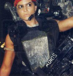 Vasquez - Jenette Goldstein - Aliens 1986
