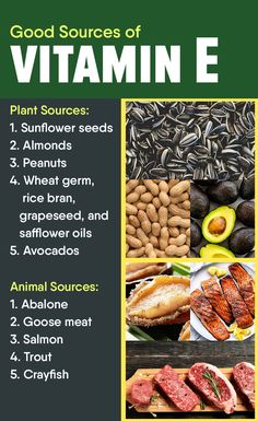 Learn more about the good sources of vitamin E. Read the article here: Healthy Nutrition, Healthy Tips, Benefits Of Vitamin E, Wheat Germ, Safflower Oil, Living A Healthy Life, Healthier You, Health And Wellness, Avocado