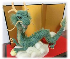 Needle Felted Dragon - for Juanito