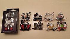 Disney's Nightmare Before Christmas Railroad Train Mystery Pin Set of 8