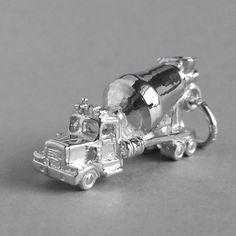 Concrete Truck Charm by Silver Star Charms, Australia