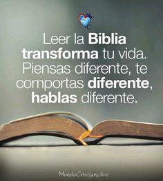 Lee la Biblia porque es él único libro que nos guía a Dios