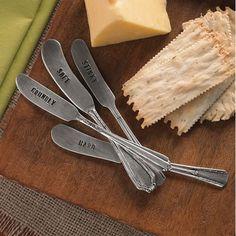 Mudpie Cheese Spreader Marker Set