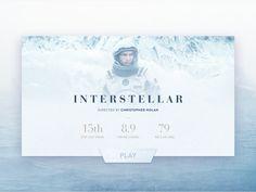 Card Interstellar Movie