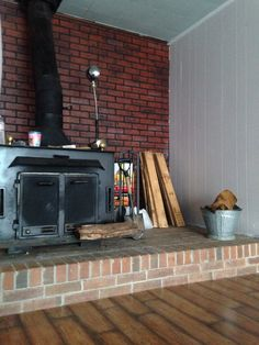 Trim work needs to be finished and that wall behind the stove WILL be a pallet feature wall