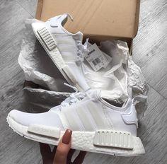 #Adidas NMD R1 PK White