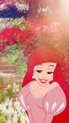 Disney meets Van Gogh - Little Mermaid