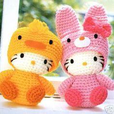 Crafts - Crochet eBook - Hello Kitty Vol 3 - Japanese