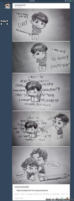 EXO chanyeol and baekhyun Exo Ot12, Baekhyun, Park Chanyeol, Jikook, K Pop, Kpop Fanart, Chanbaek Fanart, Exo Fan Art, Baekyeol