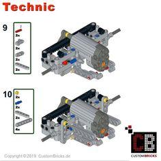 Custom RC Skania 10x4 6 SLT Truck Lego Factory, Truck Detailing, Shop Lego, Ww2 History, Lego Technic, Modern Warfare, Lego Brick, Custom Items, Engineering