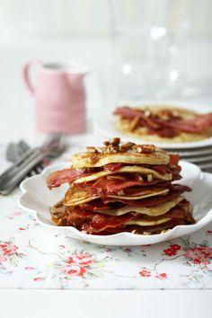 bacon pancake pecan pancakes