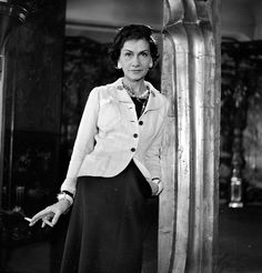 1937 - Coco Chanel  by Boris Lipnitzki