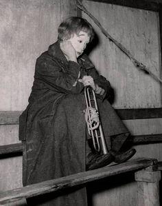 "Giuletta Massina  "" La Strada "", 1954"