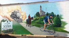 Adventure Cycling Association: On the Underground Railroad in Xenia, Ohio Xenia Ohio, Bike Poster, Underground Railroad, Bicycle Art, Travel News, Tour Guide, Great Places, Touring, Places To Visit